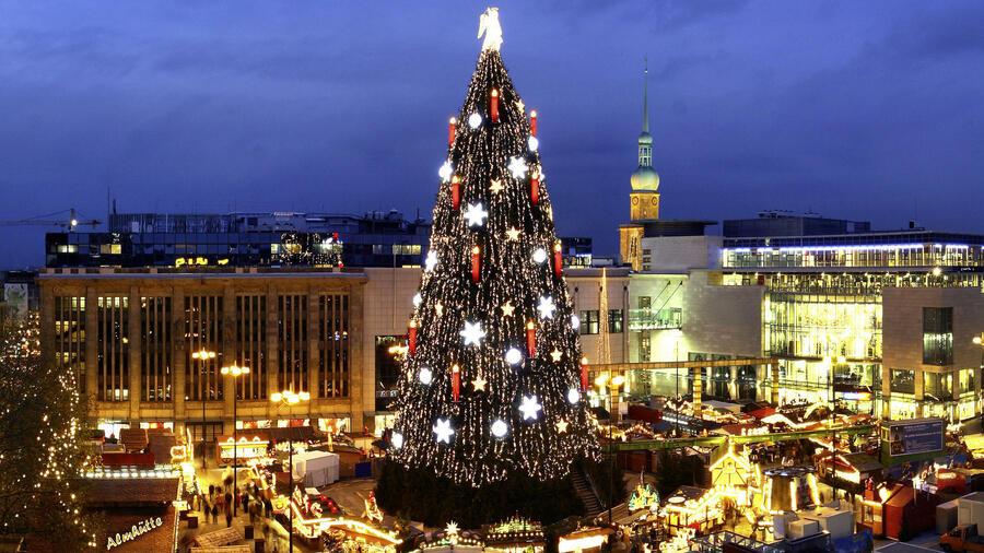 Höchster Weihnachtsbaum Deutschlands.Wirtschaftsfaktor Weihnachtsmärkte Lauter Die Kassen Nie Klingeln
