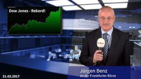 Dow Jones auf Rekordjagd — Dax zieht mit