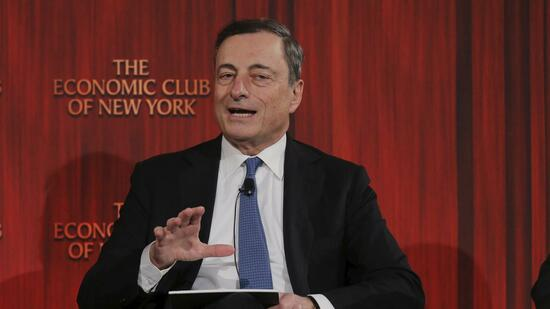 Draghi in New York