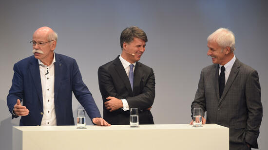Drei Chefs