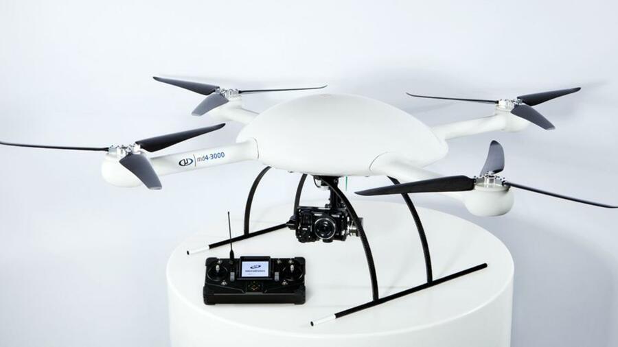 Neue Microdrone steigt auf 4000 Meter