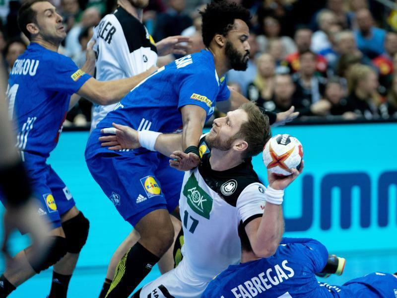 Coup verpasst: Deutsche Handballer Remis gegen Frankreich