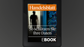 Handelsblatt eBook zu Datensicherheit.