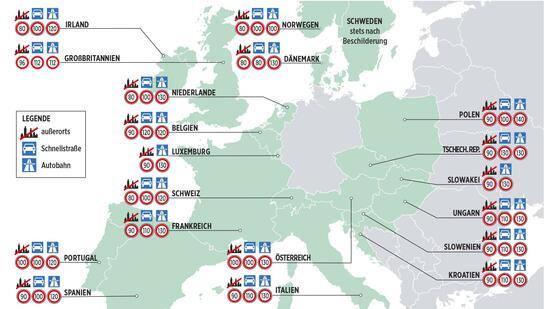 Bu gelder in europa mauts nder zahlen bis 800 euro strafe for Wohnlandschaft bis 800 euro