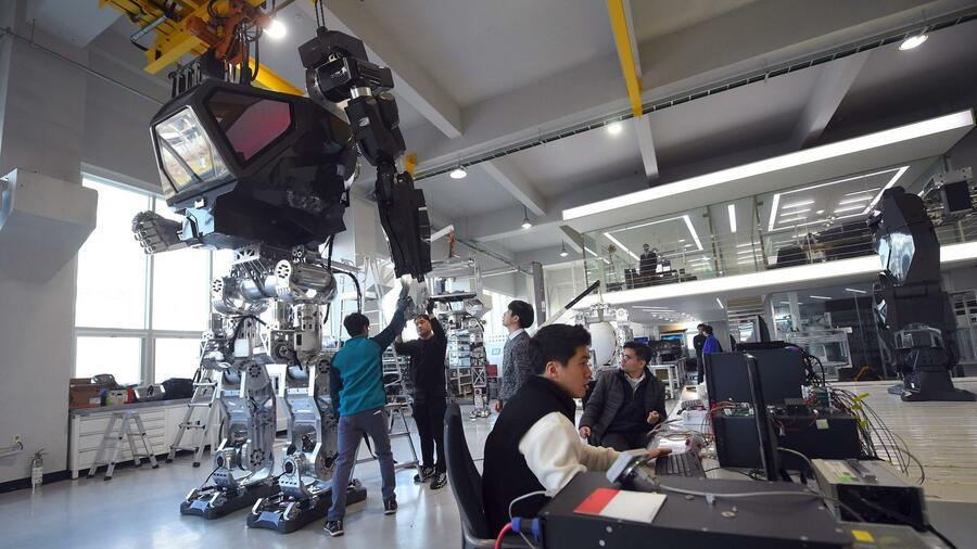 Robotik: Roboter-Muskeln aus Silikon und Alkohol