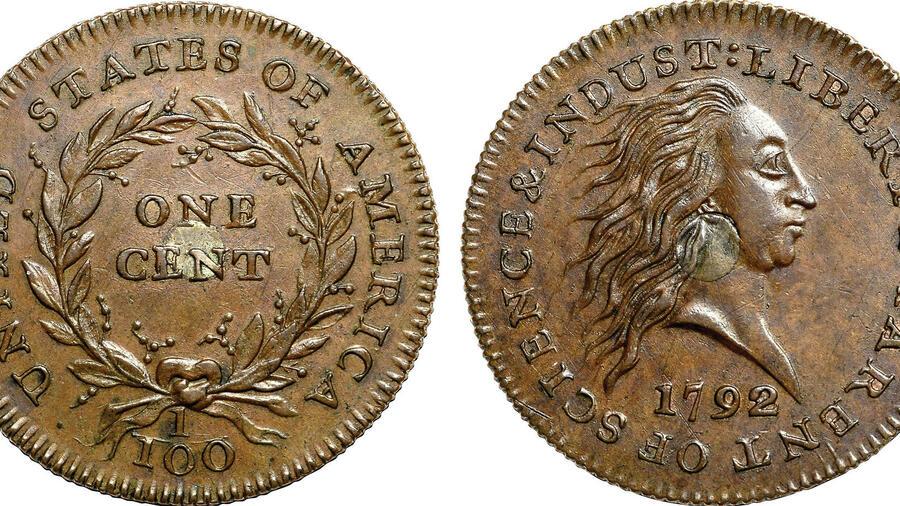 Versteigerung Zwei Alte Us Münzen Für Mehr Als 28 Millionen Dollar