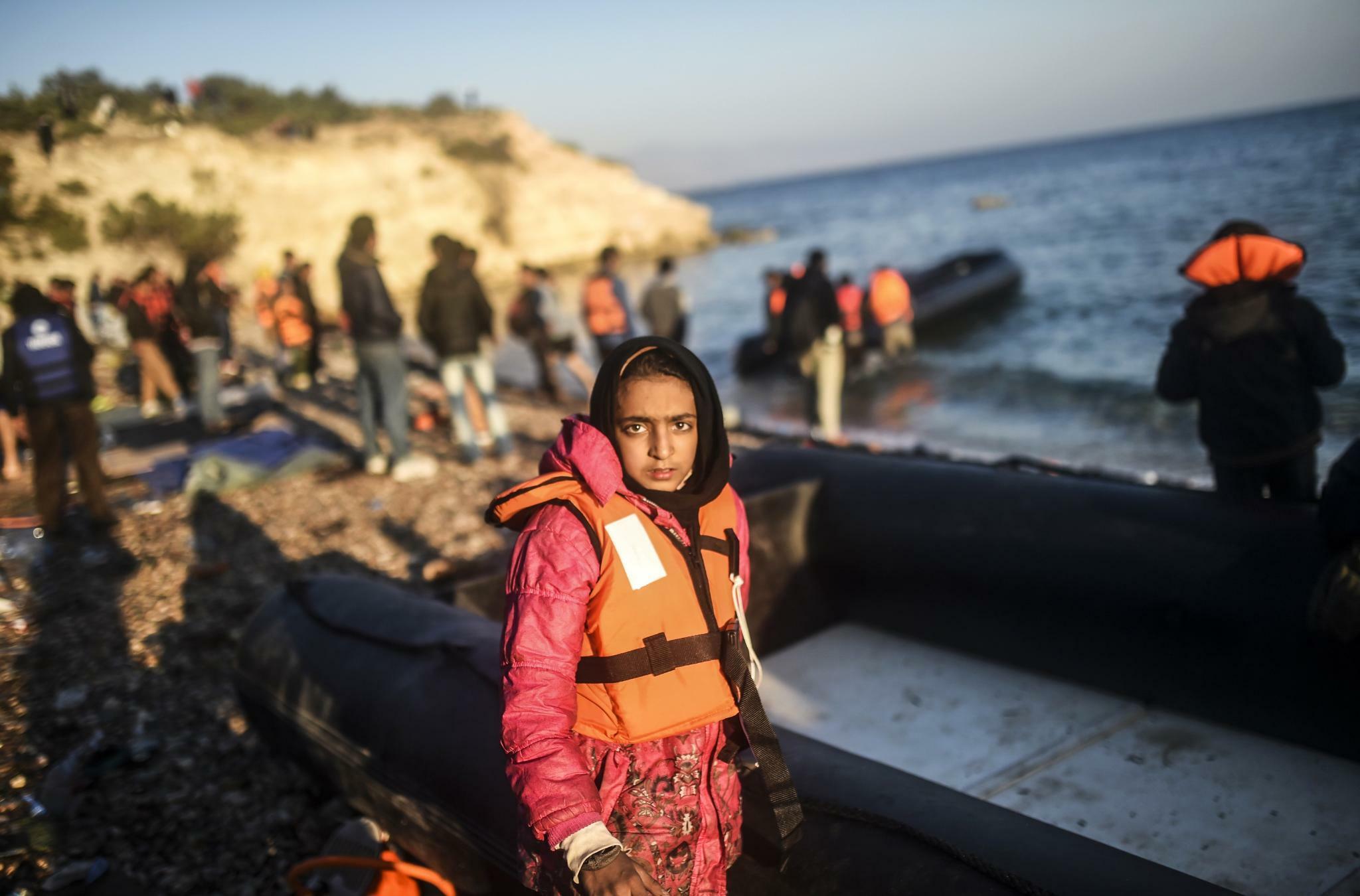 Mehr als 300 Migranten in Griechenland angekommen