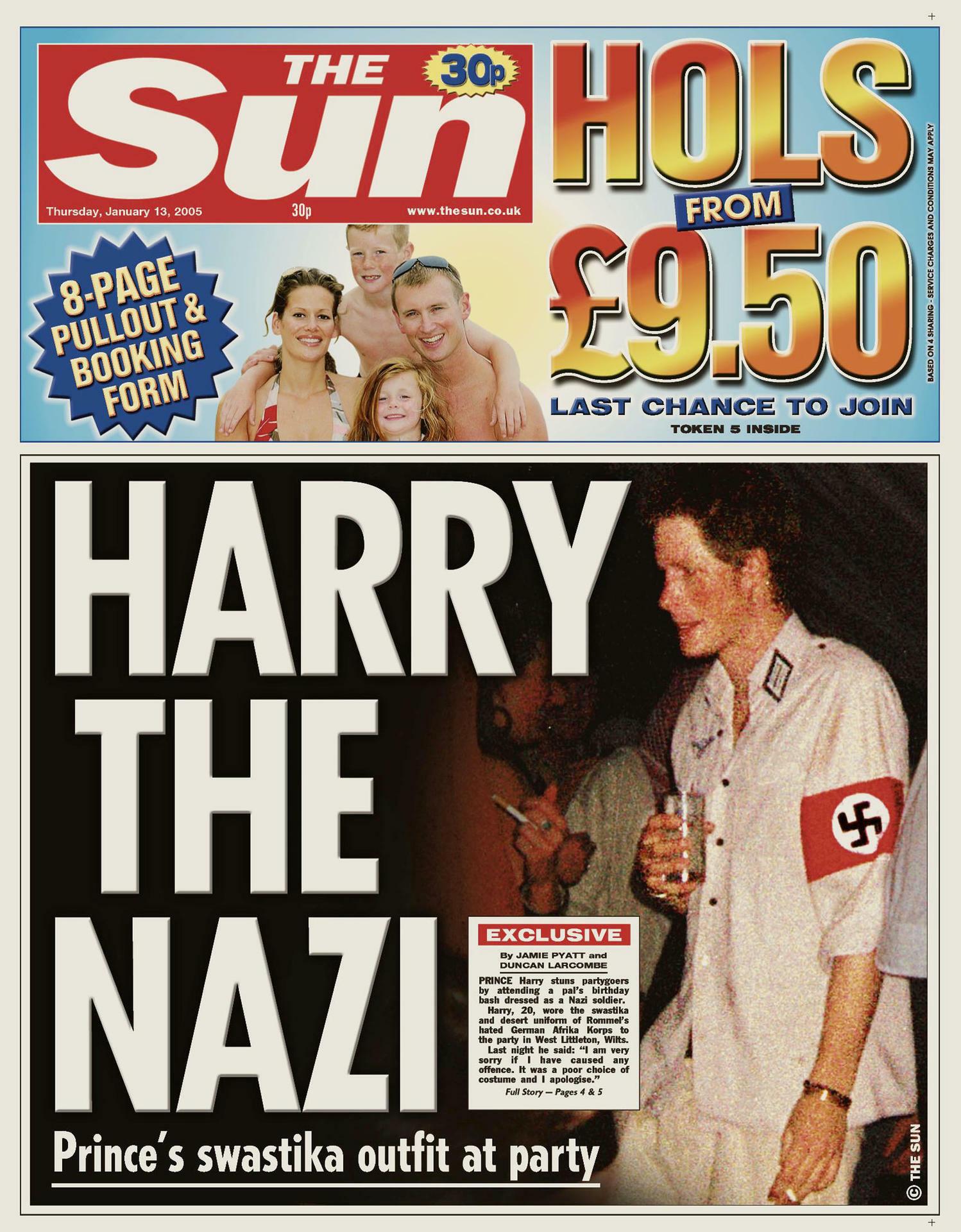 Skandal auf der Insel: Britischer Abgeordneter auf Nazi-Kostümparty