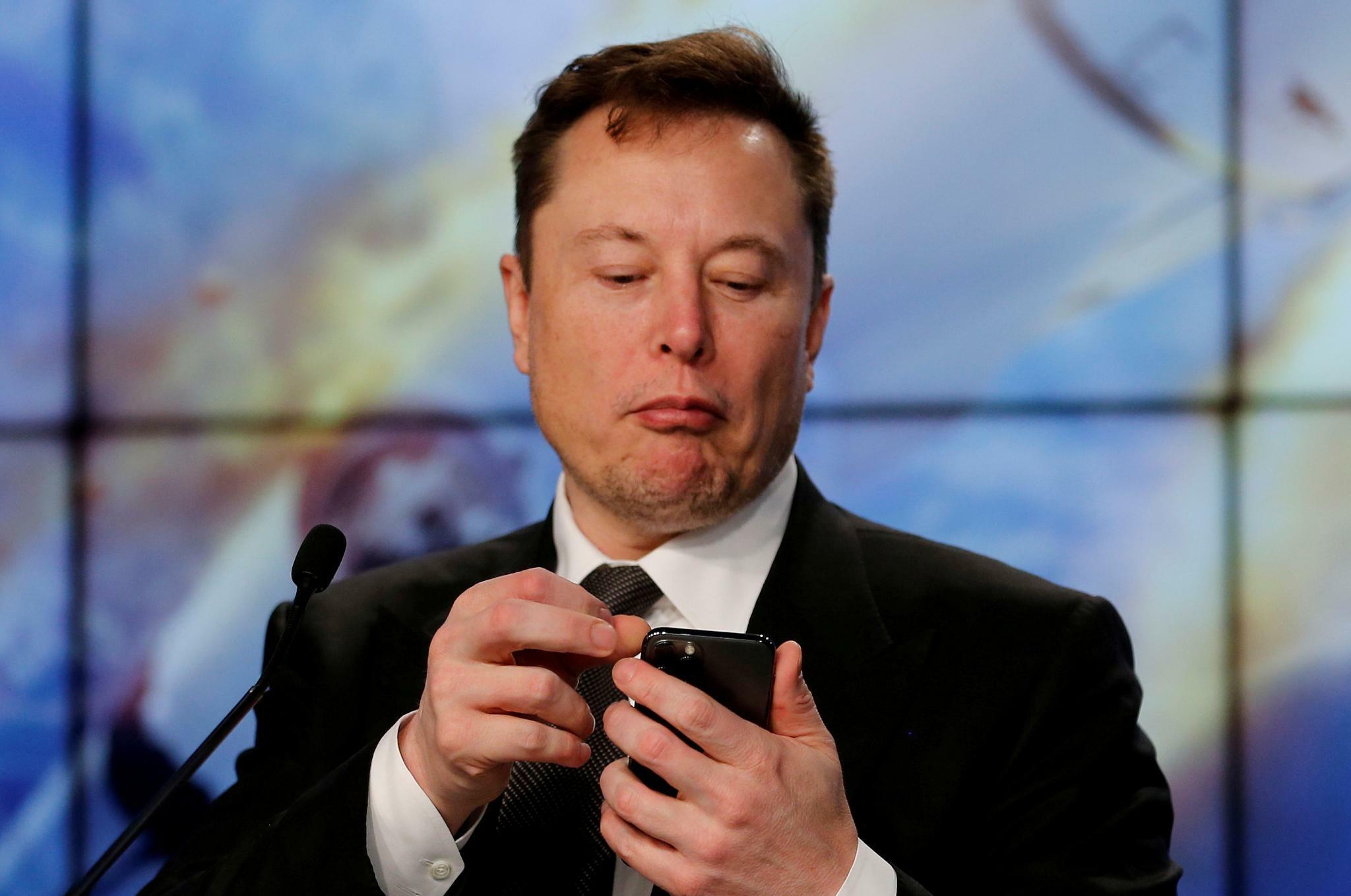 Elon Musk Musk Tweet lässt den Kurs von Dogecoin fallen