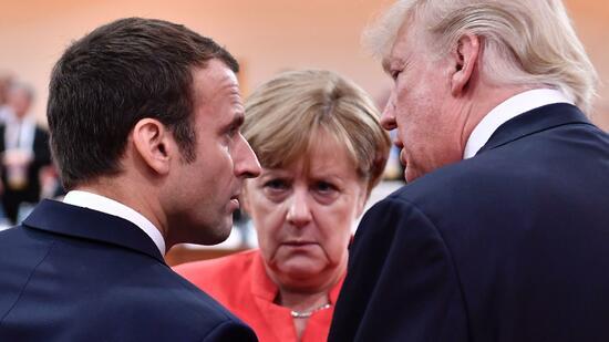 Trumps Auftritt in Paris: