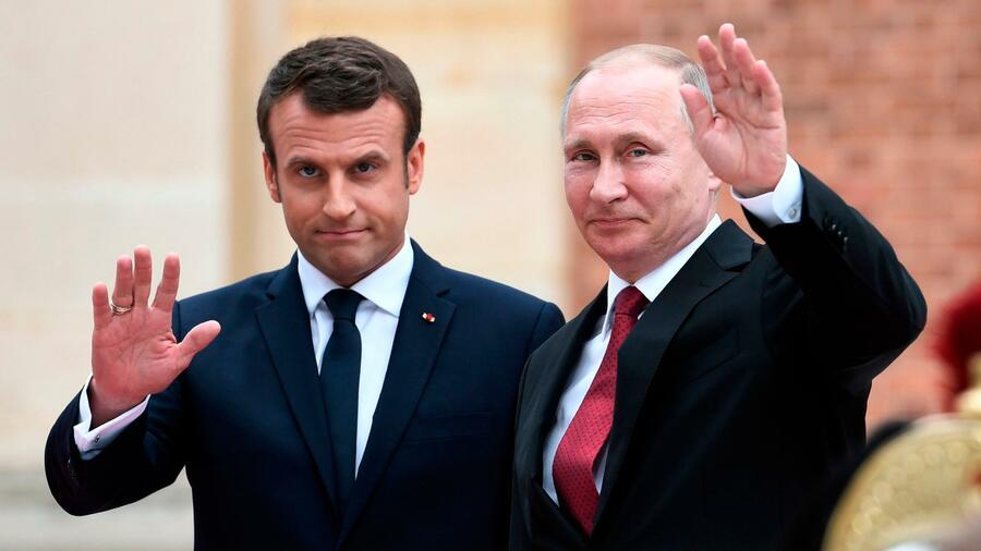 Macron plädiert für Verbleib Russlands im Europarat