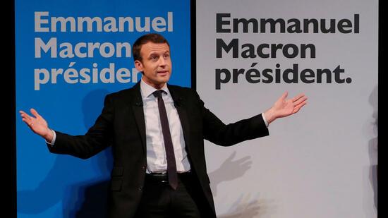 Macron und Le Pen fast gleichauf