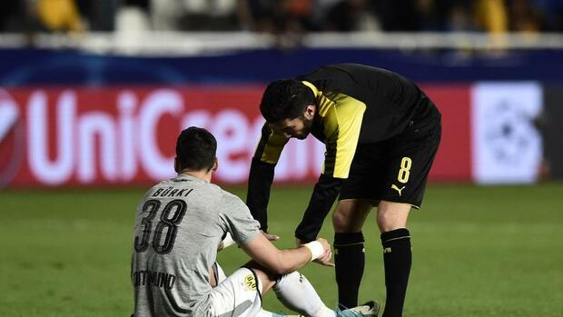 Fußball: Kapitulation nach Bürki-Patzer: BVB schreibt K.o.-Runde ab