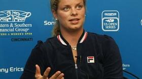 Erfolgreiches Comeback: Kim Clijsters. Foto: Bongarts/Getty Images Quelle: SID