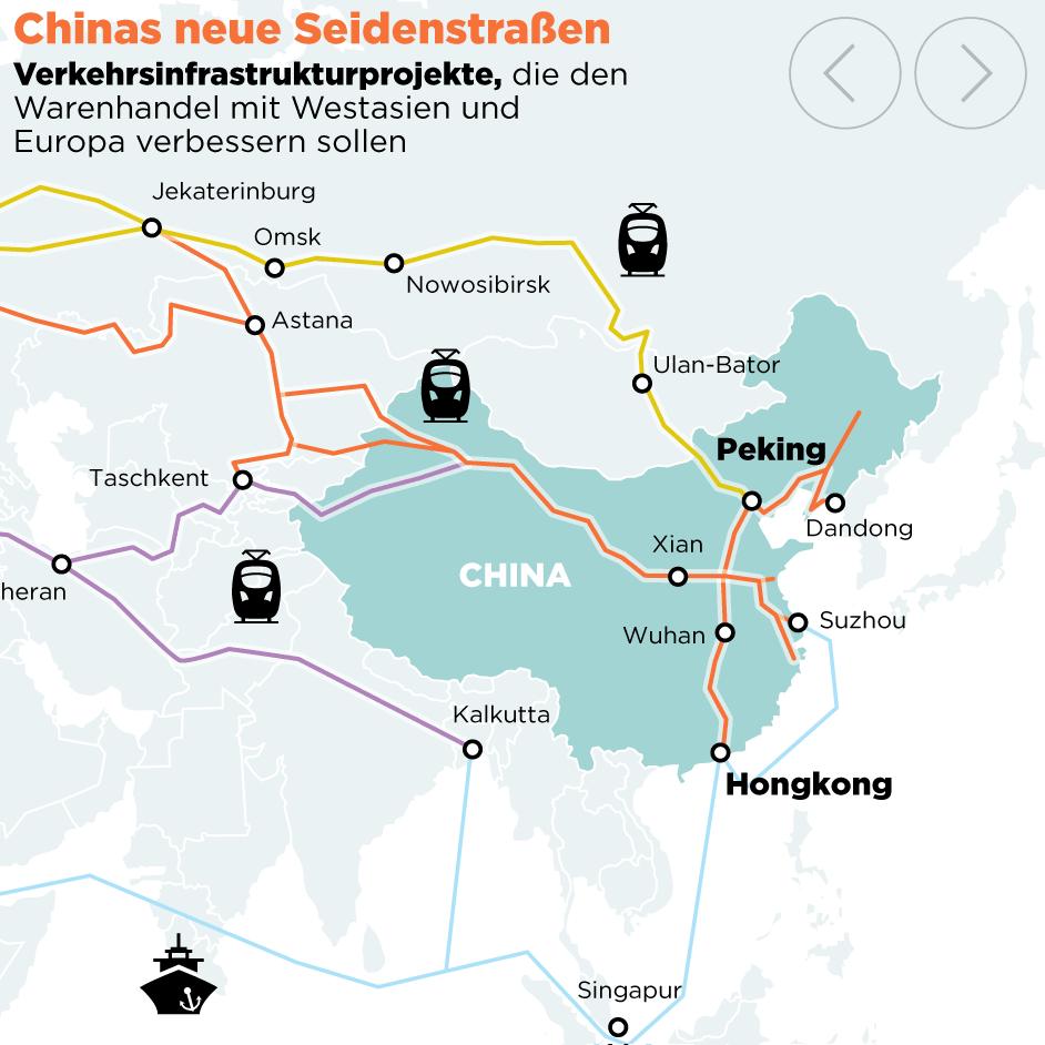 Macron - Chinas neue Seidenstraße darf keine Einbahnstraße sein