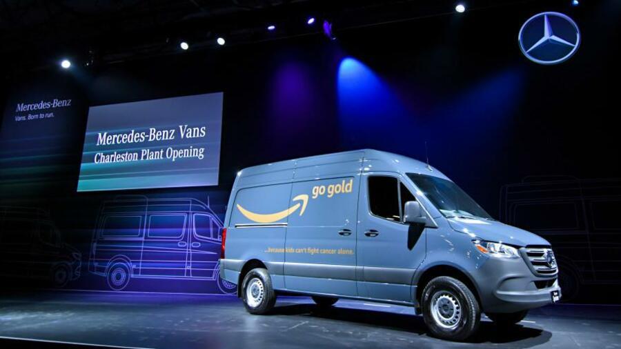 Mercedes erhält Grossauftrag von Amazon für 20'000 Sprinter