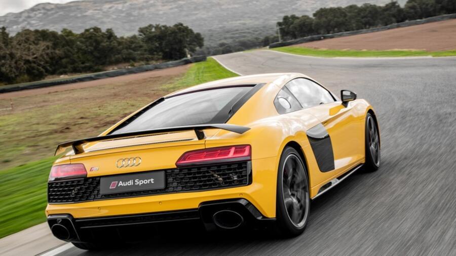 sportwagen: mit lamborghini im herzen – der audi r8 im test