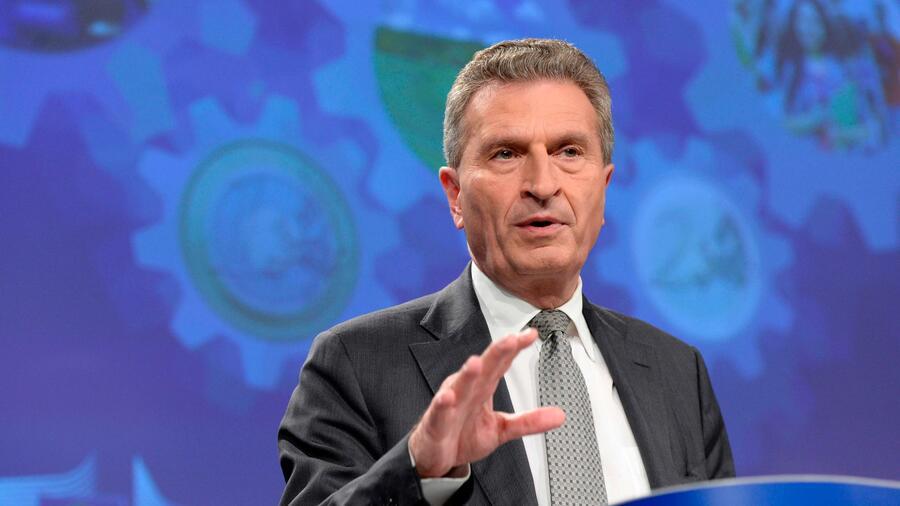 Oettinger - Brexit wird zu kleinerem EU-Haushalt führen müssen