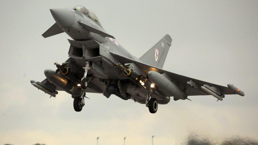 """Nur die Hälfte der """"Eurofighter"""" ist flugtauglich"""