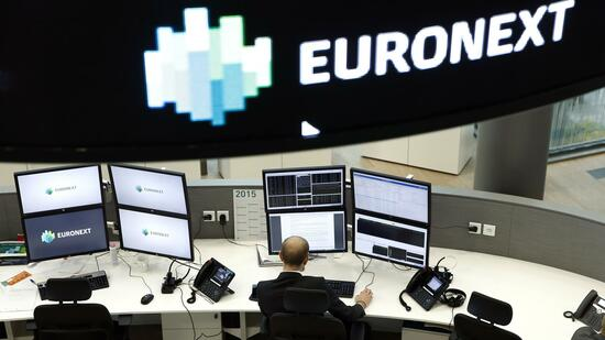 Euronext-Handelsraum in Paris