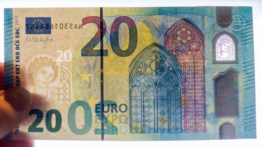 Euroscheine Abbildungen
