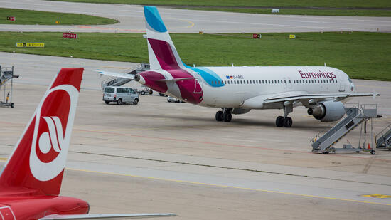 Eurowings und Air Berlin