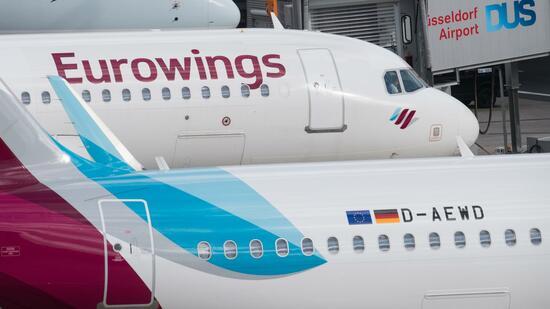Einigung zwischen Eurowings und Gewerkschaft