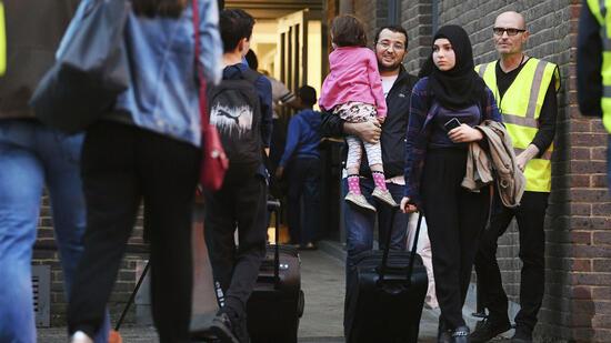 Brandgefahr: 800 Wohnungen in London evakuiert