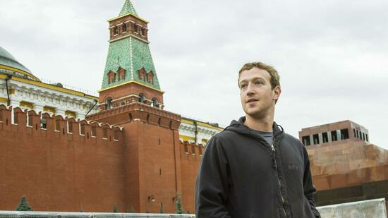 Facebook-CEO in Moskau