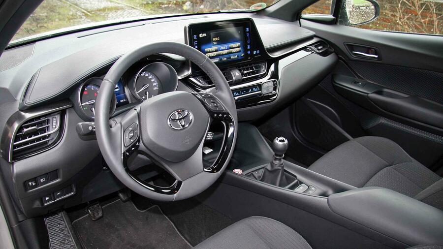 Toyota C Hr Im Handelsblatt Test Von Mutiger Gestalt