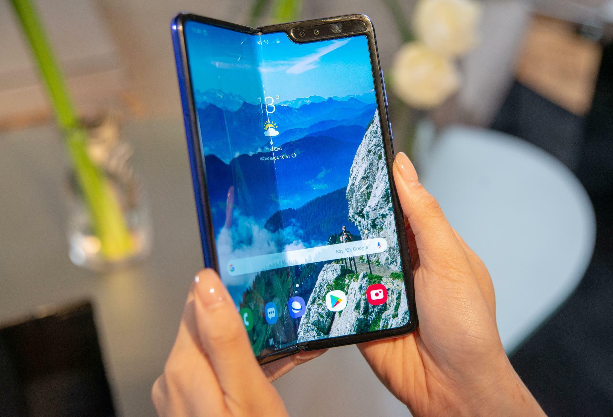 Das Galaxy Fold im Test: So stellt sich Samsung die Zukunft des Smartphones vor