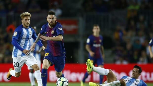 Fußball: FC Barcelona in spanischer Liga weiter klar vorn