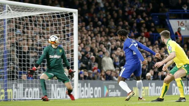 Fußball: Chelsea imElfmeterschießen in die vierte FA-Cup-Runde