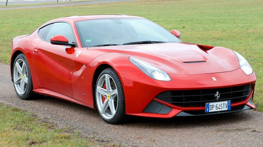 Ferrari F12 Berlinetta Im Handelsblatt Autotest Die Ultimative Fahrmaschine