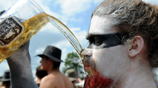 Wacken-Festival verlegt Bier-Pipeline