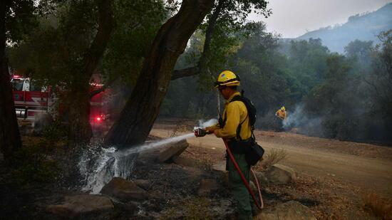 Feuerwehr in Kalifornien dämmt größten der Waldbrände ein