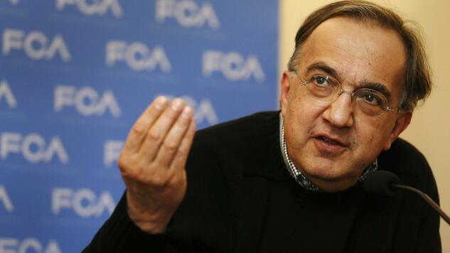 Fiat Chrysler CEO Sergio Marchionne answers questions from the media during the FCA Investors Day at the Chrysler World Headquarters in Auburn Hills, Michigan May 6, 2014. REUTERS/Rebecca Cook (UNITED STATES - Tags: TRANSPORT BUSINESS EMPLOYMENT) Quelle: Reuters