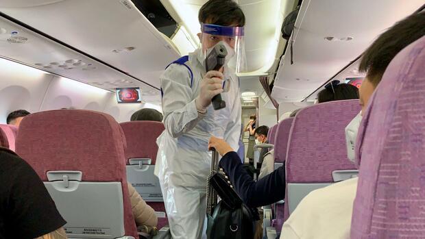 Lungenkrankheit: Ausbreitung des Coronavirus: Worauf sich Passagiere und Airlines einstellen müssen