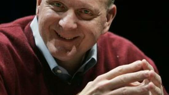Will Internet-User mit Punkten locken: Microsoft-Chef Steve Ballmer. Quelle: DAPD