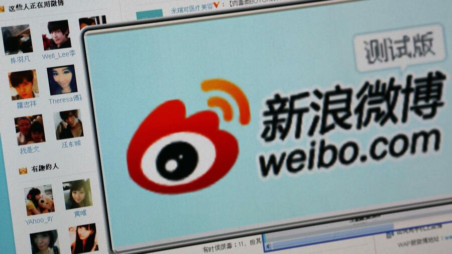 Die Microblog-Website Weibo in China verschärft die Zensur. Quelle: Reuters