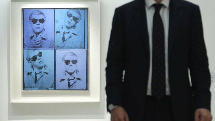 "Andy Warhol: ""Self-Portrait"" von 1963/64 Quelle: Reuters"