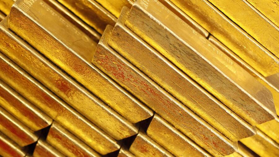 Im April war der Goldpreis massiv unter Druck geraten. Quelle: Reuters