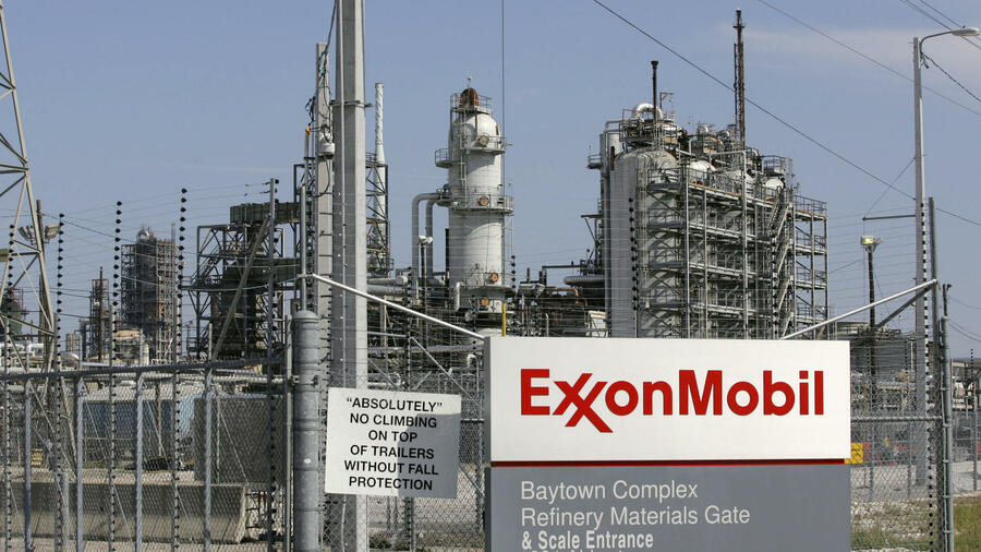 Eine Exxon Mobil Raffinerie in Baytown, Texas. Quelle: Reuters