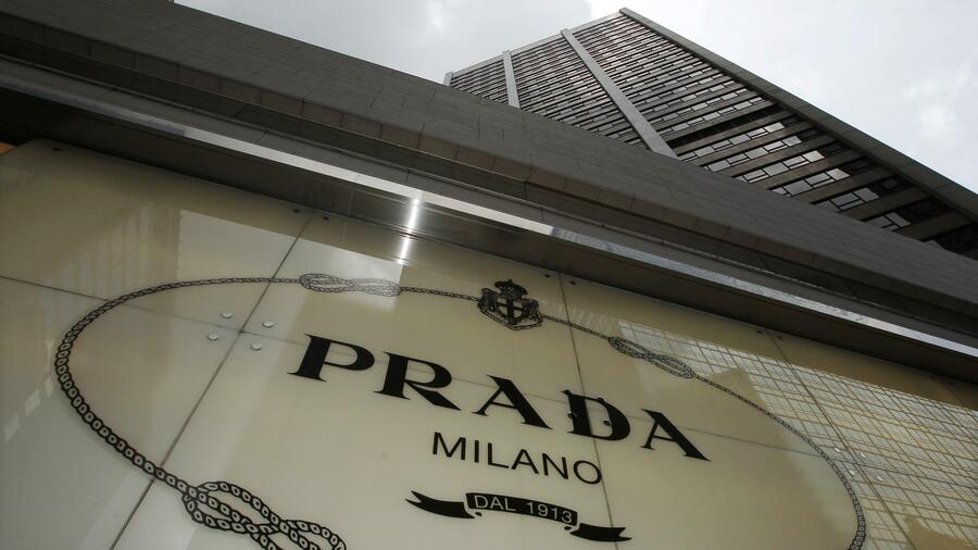 Die Prada-Filiale in Hongkong. Quelle: Reuters