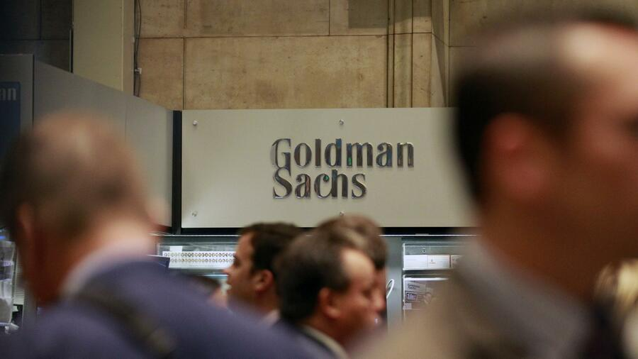 Händler von Goldman Sachs an der New York Stock Exchange. Quelle: Reuters