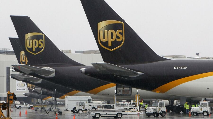 UPS-Flugzeuge am zentralen US-Drehkreuz in Louisville, Kentucky. Quelle: Reuters