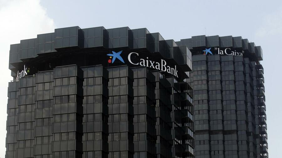 Die CaixaBank in Barcelona. Quelle: Reuters
