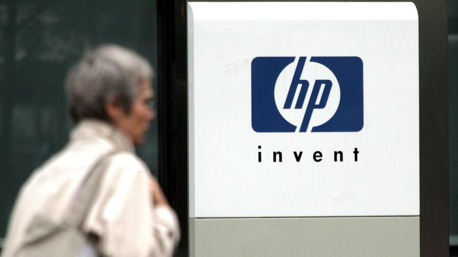 Das Hewlett-Packard-Logo. Quelle: Reuters