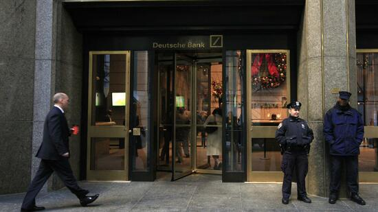 Filiale der Deutschen Bank in New York
