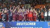 Basketball: Bayern-Basketballer feiern ersten Pokalerfolg seit 50 Jahren
